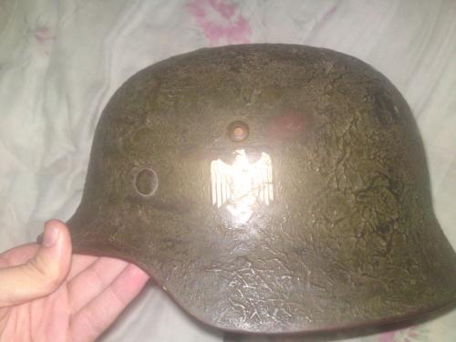 Deutscher Decal Helm -  echt or fake ?