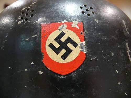 Firemans Aluminium Parade Helmet