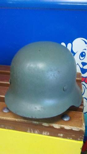 Is this real M42 stahlhelm?