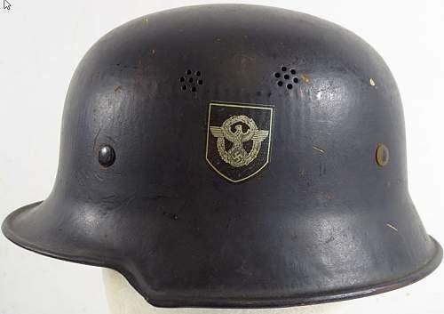 Need help with police helmet!