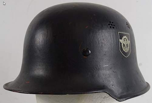 Need help with police helmet!