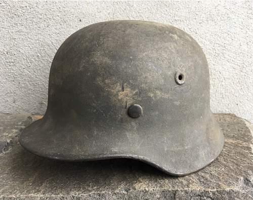 Advice on m40 helmet