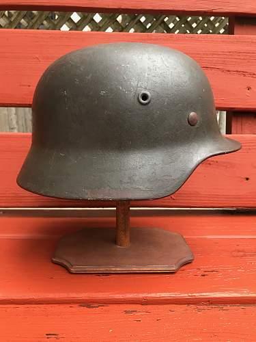 Ein Soldaten Helm