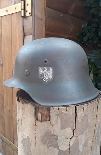 М42 Heer helmet - opinion needed!