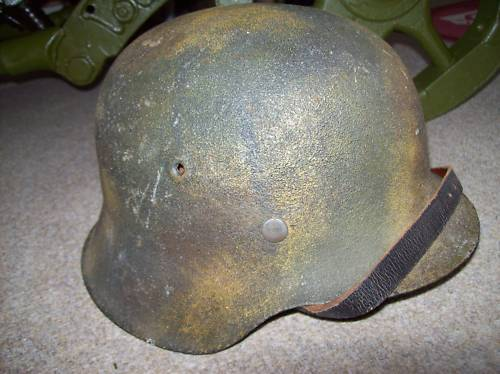 Another camo helmet on e-bay!