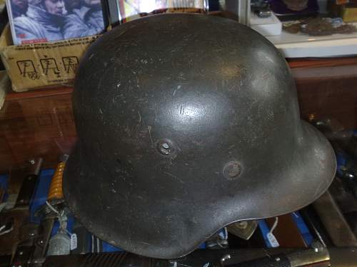 M42 Kriegsmarine Helmet:-)