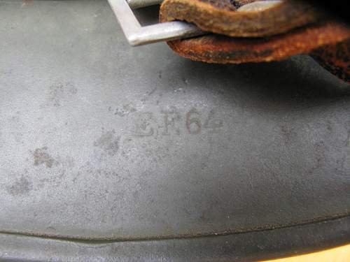 A better M35 DD Heer, EF64 lot # 3818, with a grey-lined adler