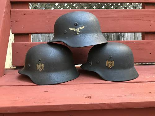 The Wehrmacht (Army, Navy, Air Force)