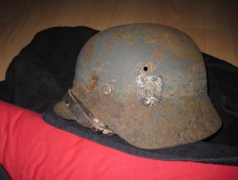 Wehrmacht helmet: original or fake??