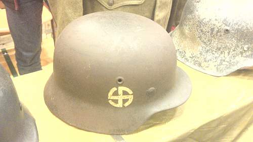 Rare helmet....supposedly