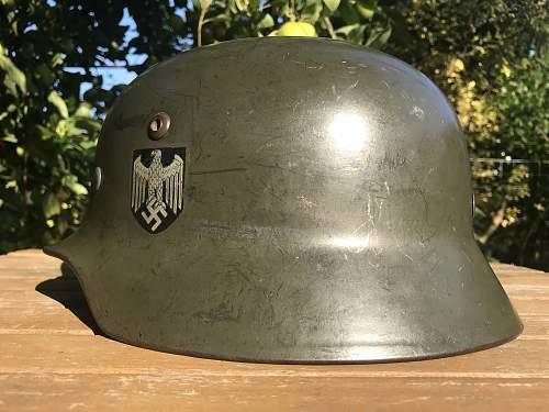 DEPOT REISSUED M35 DD Heer