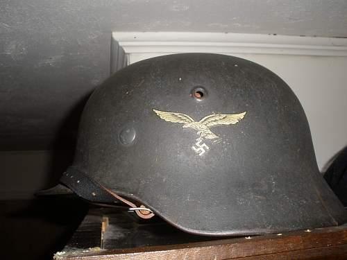 My Luftwaffe helmet