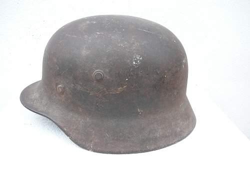 Luftwaffe helmet M40 original???