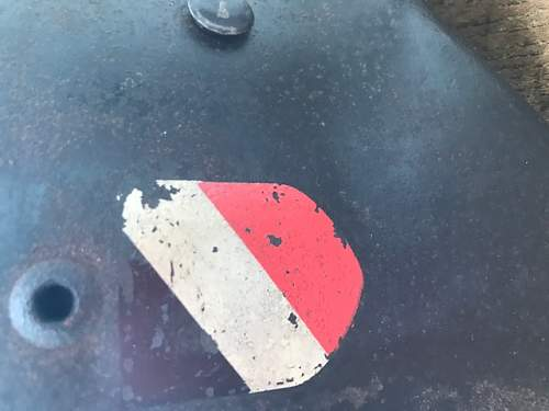 WWII Double Decal? Helmet of the Luftwaffe