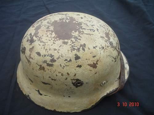 Snow Camo Helmet