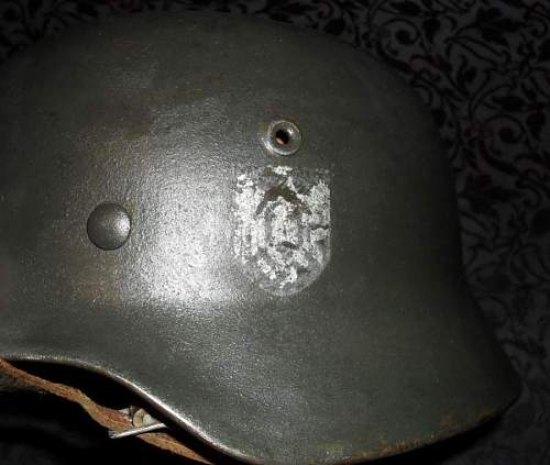 Advice wanted on my german headgear