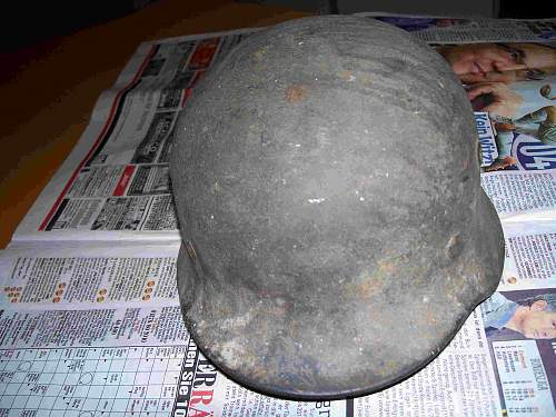 My first steel helmet
