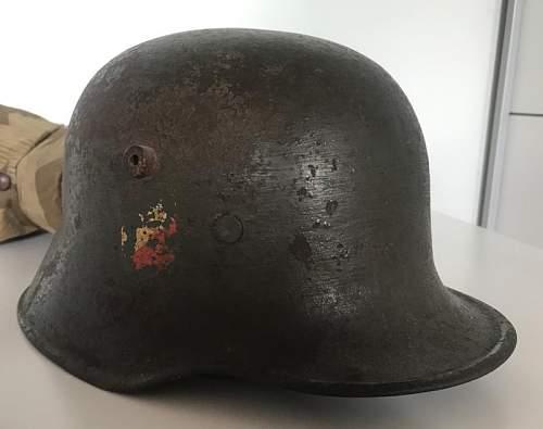 Unusual helmet from Breslau :)