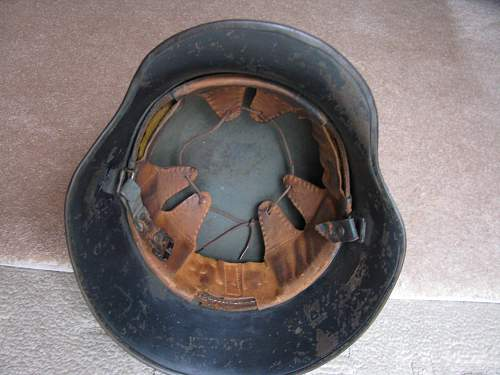 Droop Bill Luftschutz Helmet