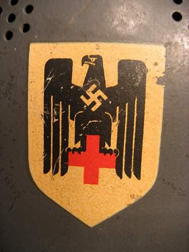 German Red Cross Helmet