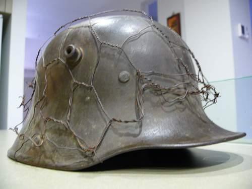M17 Chicken wire Helmet