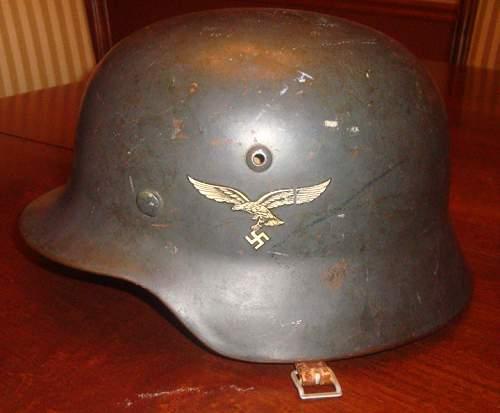 M35 dd luftwaffe helmet