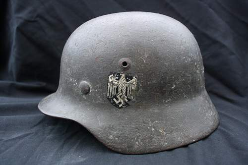 Single decal Heer Helmet - Would love your opinions and advice