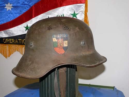 Luftschutz 1 Peice, Bulgarian Decal, inscribed