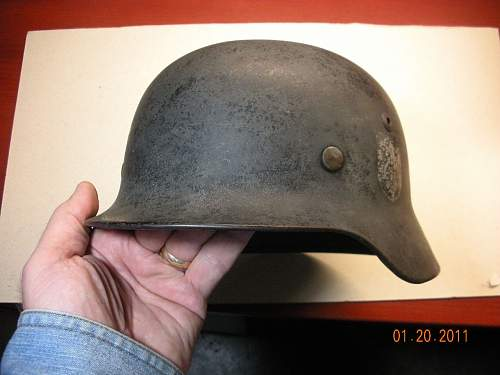 My first 'real' helmet - M35