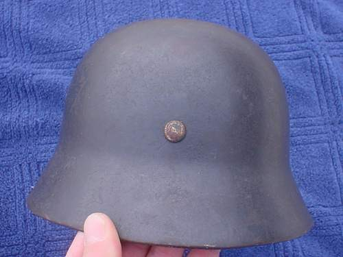Is this luftwaffe helmet authentic?