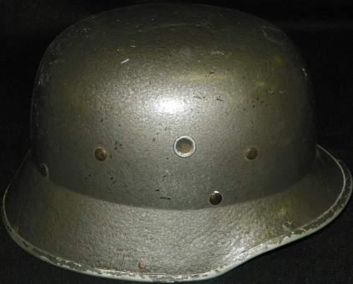 Civic or parade helmet or something else?