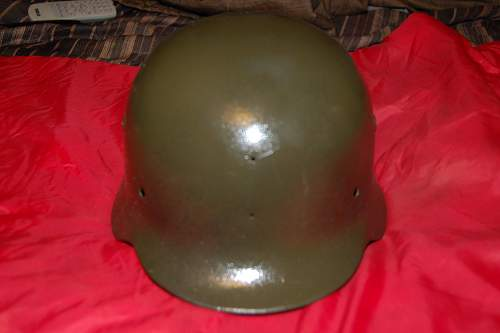 Says it's German WW2 helmet