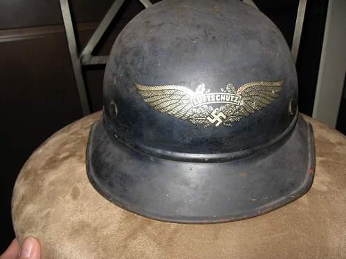 My only German Helmet