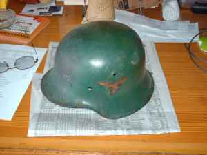 "Opinions on this ""luftwaffe"" helmet"