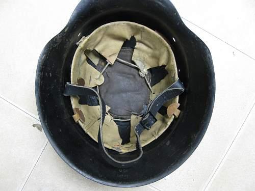 Quist M42/ Opa's luftwaffe helmet