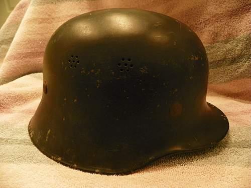 Police or fire helmet?