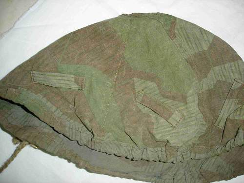 Opinions needed on helmet camo cover
