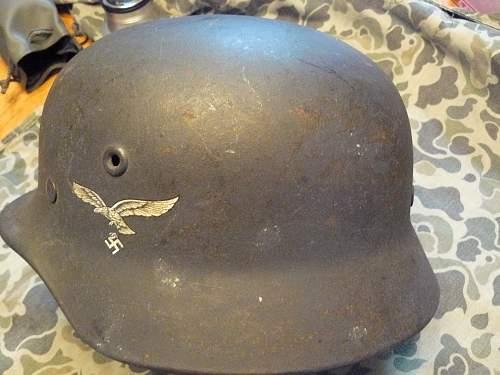M1940 helmet @ chinstrap
