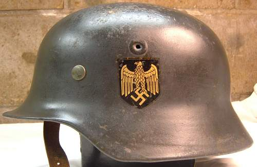 opinions on this WWII german lid