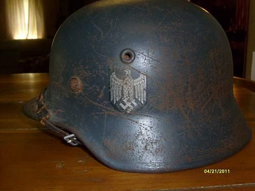 First german helmet