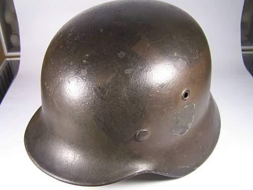 M40 Normandy camo helmet