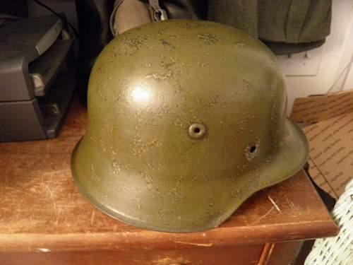 M42 Helmet Single Decal