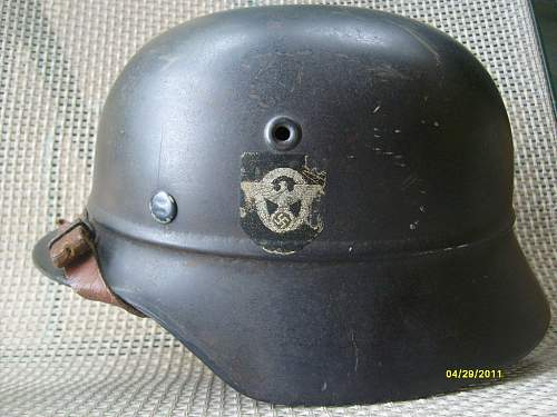 New Police lid