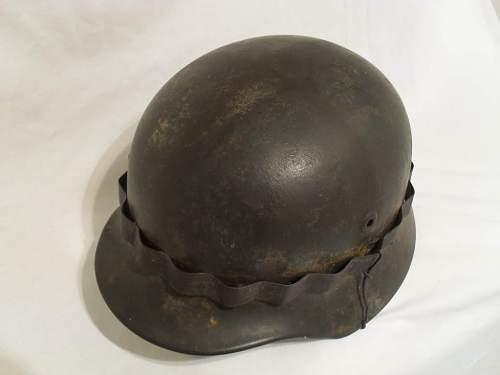 My new m40 luft combat helmet