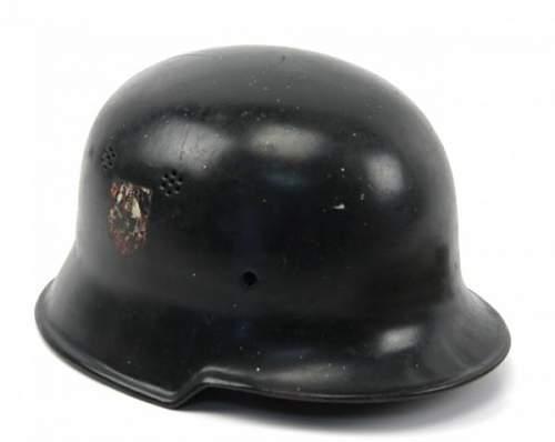 German police helmet(s)