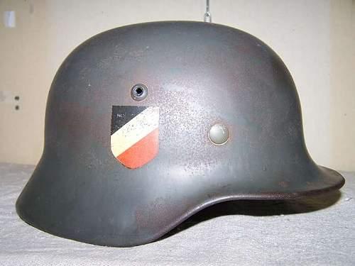 M 35 DD EF helmet
