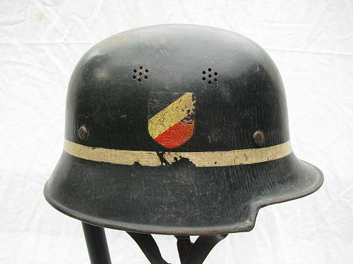 M34 Double Decal Luft Crash Crew - Droop Tail Adler