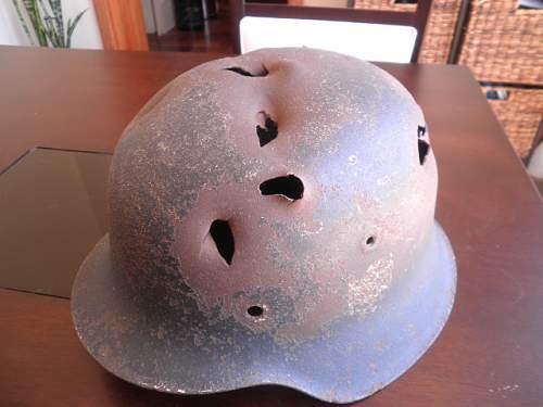 M42 battle damaged