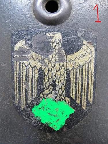 Hello friends, eagles of helmet Heer and luftwaffen, ORIGINAL???