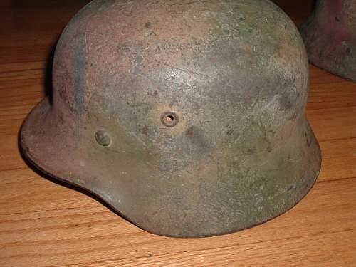 Some Camo Helmets